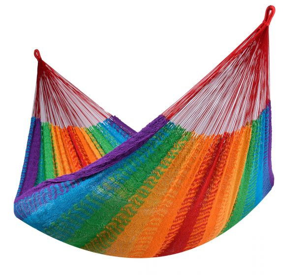 Hängmatta 2 Personer Mexico Rainbow