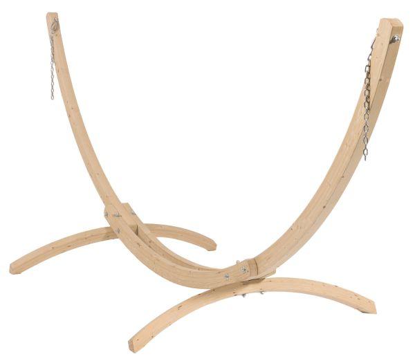 Ställning till Hängmatta 1 Person Wood