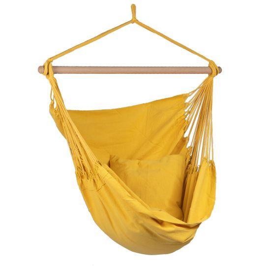 Hängstol 1 Person Organic Yellow