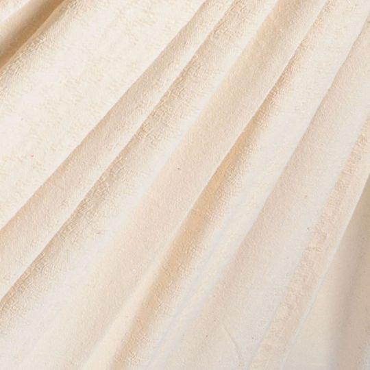 Pläd Luxe White