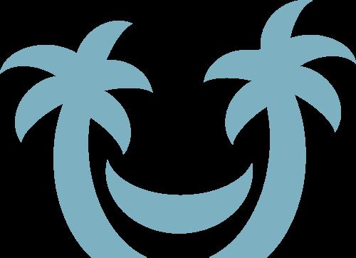 Palm Trees - Hängmatta Butik